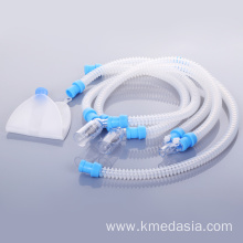 medical silicone disposable anesthesia breathing circuit